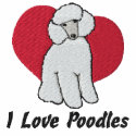 Poodle Love embroideredshirt