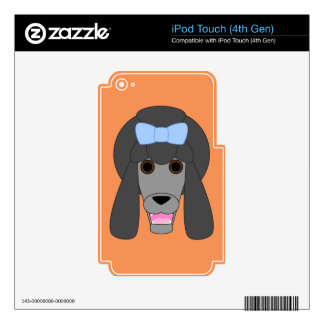 Poodle Love iPod Touch 4G Decals