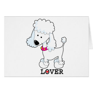 Poodle Lover Greeting Cards