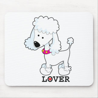 Poodle Lover Mouse Pad