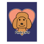 Poodle Lover Post Card