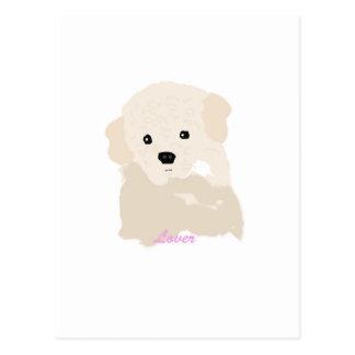Poodle Lover Postcard