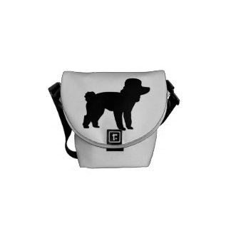 Poodle Messenger Bag