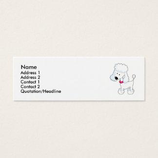 Poodle Mini Business Card