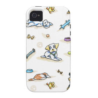 Poodle Mix-in It Up iPhone 4/4S Case