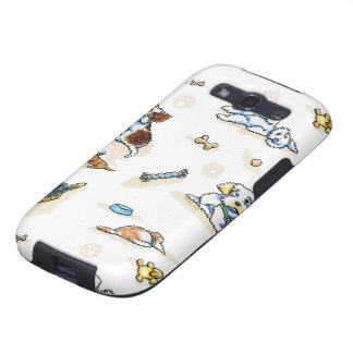 Poodle Mix-in It Up Samsung Galaxy SIII Case