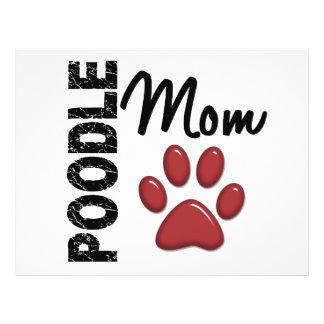Poodle Mom 2 Custom Flyer