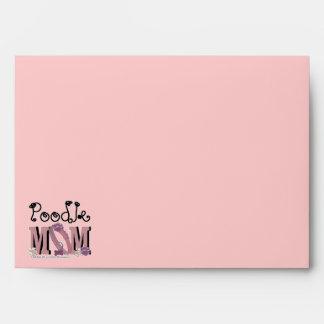 Poodle MOM Envelope