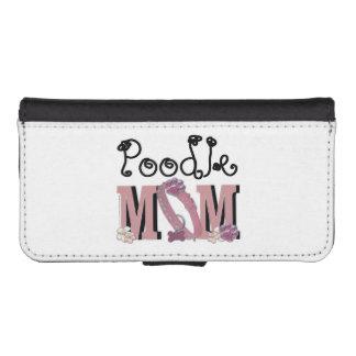 Poodle MOM iPhone SE/5/5s Wallet Case