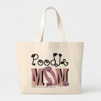 Poodle MOM Jumbo Tote Bag