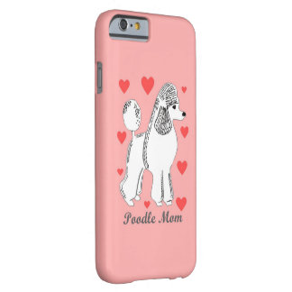 Poodle Mom Pink iPhone 6/6s Case