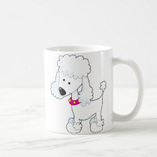 Poodle Classic White Coffee Mug
