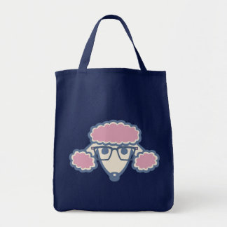 Poodle Nerd Grocery Tote Bag