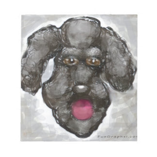 Poodle Notepad