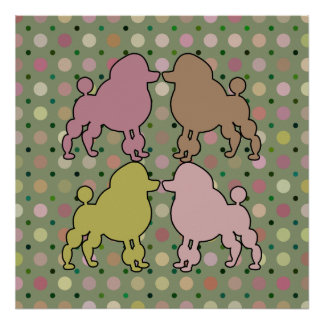POODLE PARADE POSTER