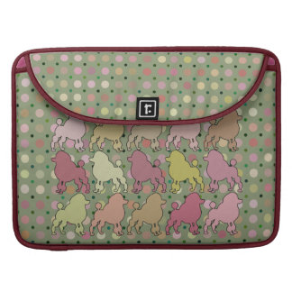 POODLE PARADE SLEEVE FOR MacBook PRO