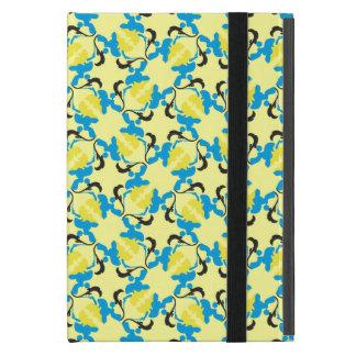Poodle Pattern blue iPad Mini Cover