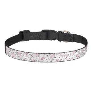 Poodle pattern collar
