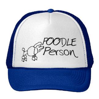 Poodle Person Trucker Hat
