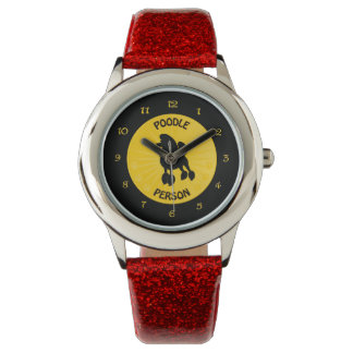 Poodle Person Wristwatches