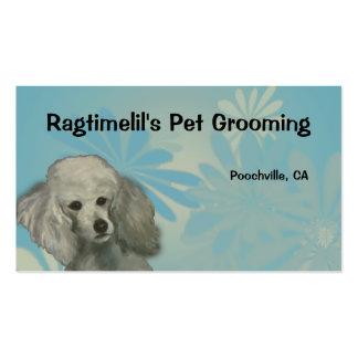 Poodle Pet Business Card