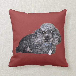 Poodle Pillow.