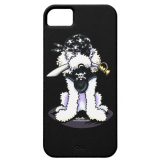 Poodle Pirate iPhone 5 Cover