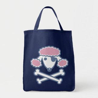 Poodle Pirate Tote Bag