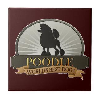 Poodle.png Ceramic Tile