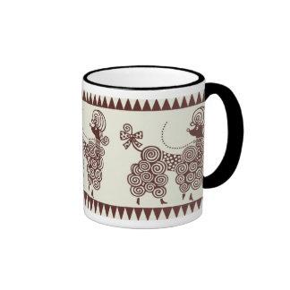 Poodle, Poodle, Poodle! Ringer Coffee Mug