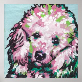 Poodle Pop Art Print