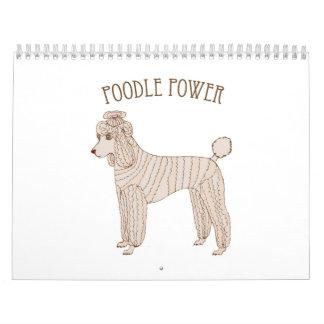Poodle Power Calendar