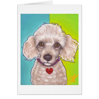 Poodle Power! Card