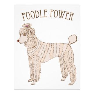 Poodle Power Flyer