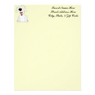 Poodle Power Letterhead