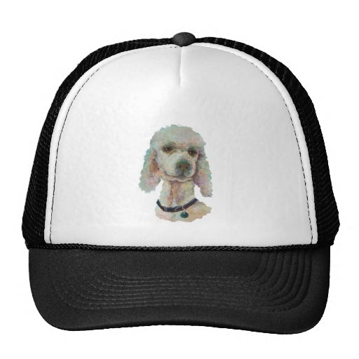 Poodle Pride and Pet Me Products Trucker Hat