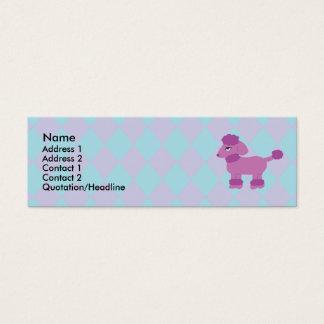 Poodle Profile Cards