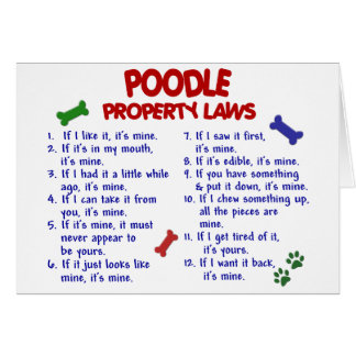 POODLE Property Laws 2 Card
