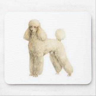 Poodle -- Puppy Clip Mouse Pad