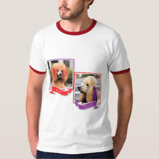 Poodle Ruby and Riley T-Shirt