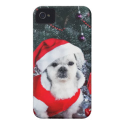 Case-Mate iPhone 4 Barely There Universal Case with Poodle Phone Cases design