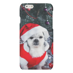 Case Savvy iPhone 6 Glossy Finish Case with Poodle Phone Cases design