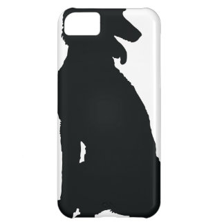 Poodle Silhouette Case For iPhone 5C