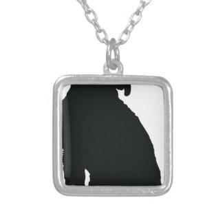 Poodle Silhouette Custom Jewelry