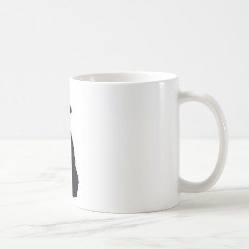 Poodle Head Silhouette Poodle silhouette mug