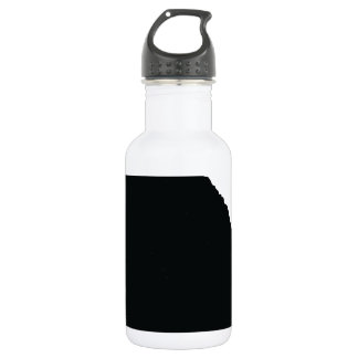 Poodle Silhouette Water Bottle