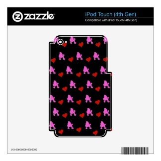 Poodle Skin For iPod Touch 4G