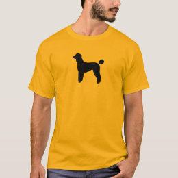 Poodle (Standard, Lamb Cut) T-Shirt