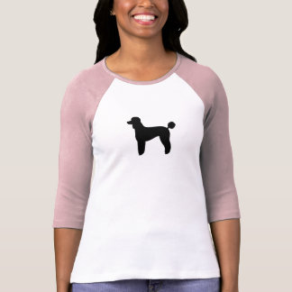 Poodle (Standard, Lamb Cut) T Shirts