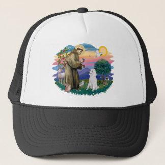 Poodle (Standard White) Trucker Hat